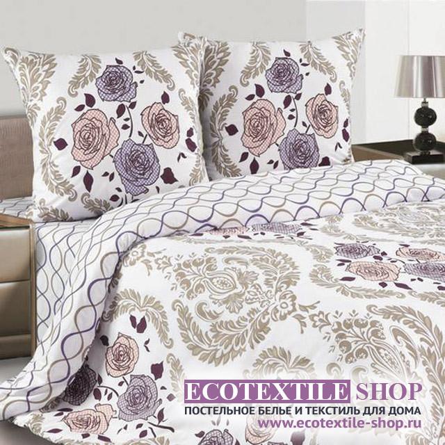 Постельное белье Ecotex Poetica Агнеса на резинке (размер 2-спальный)