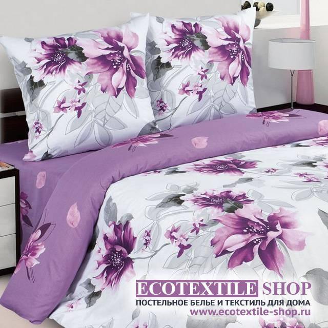 Постельное белье Ecotex Poetica Альва на резинке (размер 2-спальный)