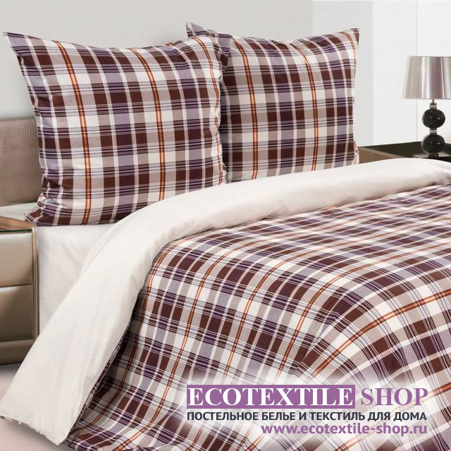 Постельное белье Ecotex Poetica Амбер (размер 1,5-спальный)