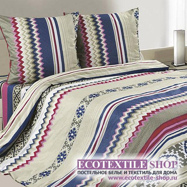 Постельное белье Ecotex Poetica Амиго (размер 1,5-спальный)