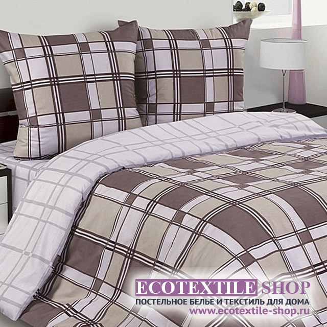 Постельное белье Ecotex Poetica Арт-деко на резинке (размер 2-спальный)