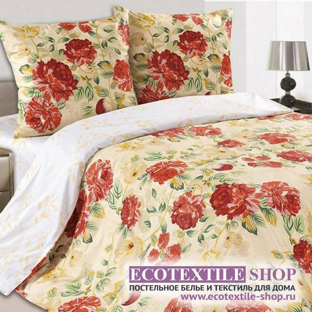 Постельное белье Ecotex Poetica Барыня на резинке (размер 2-спальный)