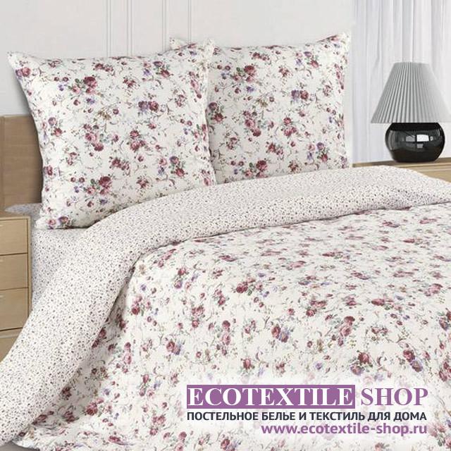 Постельное белье Ecotex Poetica Бьянка на резинке (размер 2-спальный)