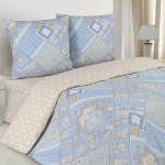 Постельное белье Ecotex Poetica Биарриц (размер 2-спальный)