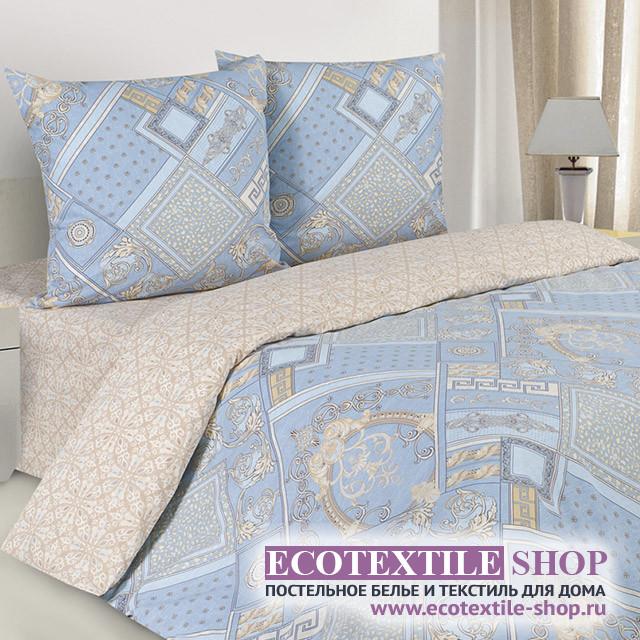 Постельное белье Ecotex Poetica Биарриц (размер 1,5-спальный)