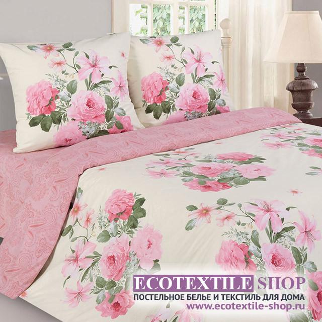 Постельное белье Ecotex Poetica Бриджит на резинке (размер 2-спальный)