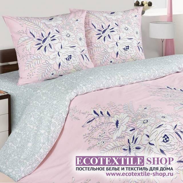 Постельное белье Ecotex Poetica Булонь (размер 1,5-спальный)