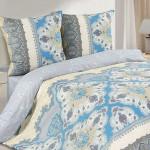 Постельное белье Ecotex Poetica Дамаск на резинке (размер 2-спальный)