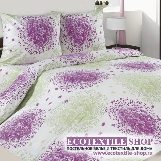 Постельное белье Ecotex Poetica Дамасская роза (размер 2-спальный)