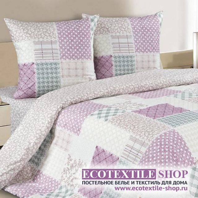 Постельное белье Ecotex Poetica Дези на резинке (размер 2-спальный)