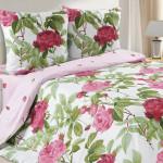 Постельное белье Ecotex Poetica Дикая роза (размер 1,5-спальный)