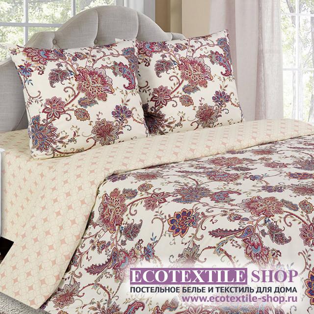 Постельное белье Ecotex Poetica Дженифер на резинке (размер 2-спальный)