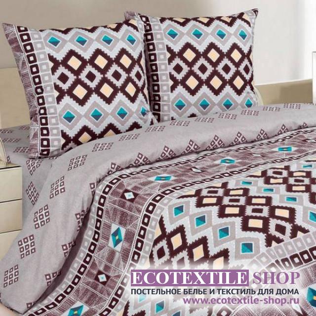 Постельное белье Ecotex Poetica Этно (размер 2-спальный)
