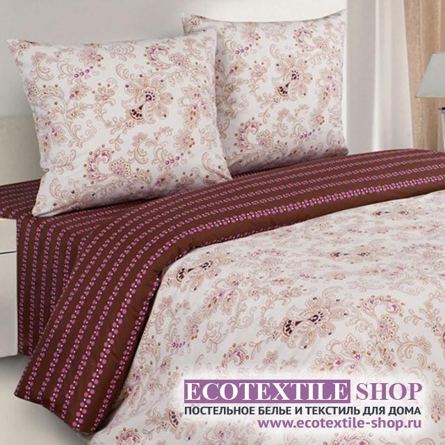 Постельное белье Ecotex Poetica Элиза на резинке (размер 2-спальный)