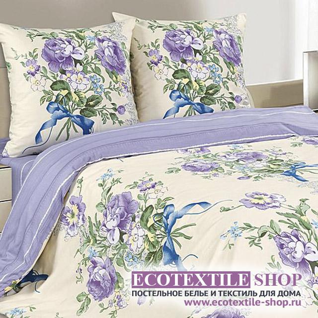 Постельное белье Ecotex Poetica Эустома (размер 1,5-спальный)