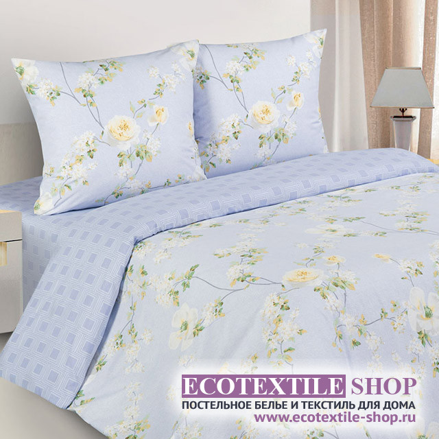 Постельное белье Ecotex Poetica Флореаль (размер 1,5-спальный)