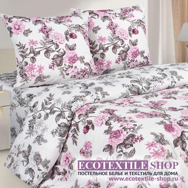 Постельное белье Ecotex Poetica Флорианна на резинке (размер 2-спальный)