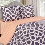 Постельное белье Ecotex Poetica Фьюжн на резинке (размер 2-спальный)