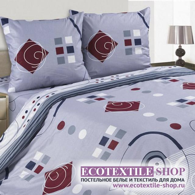 Постельное белье Ecotex Poetica Геометрия (размер 1,5-спальный)