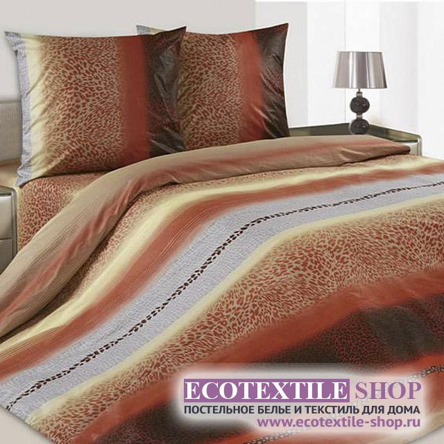 Постельное белье Ecotex Poetica Гепард (размер 2-спальный)