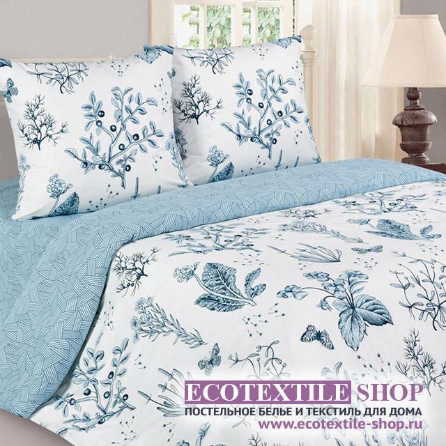 Постельное белье Ecotex Poetica Глория на резинке (размер 2-спальный)