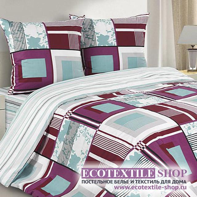 Постельное белье Ecotex Poetica Хай-Тек на резинке (размер 2-спальный)