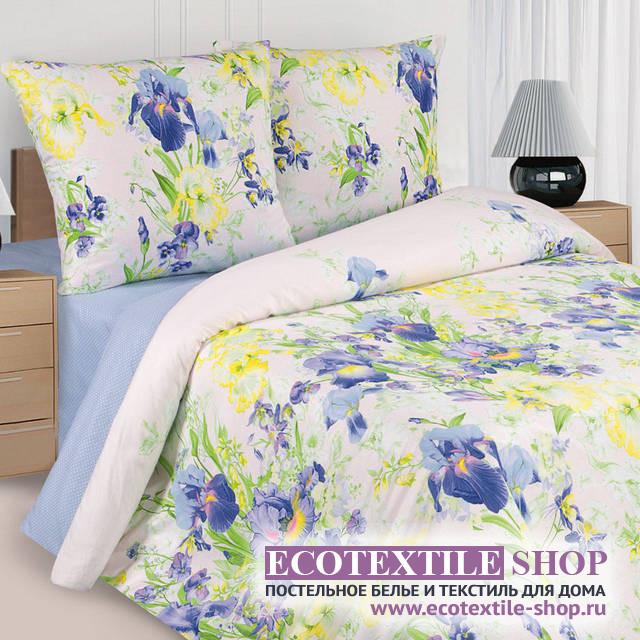 Постельное белье Ecotex Poetica Ирисы (размер 1,5-спальный)