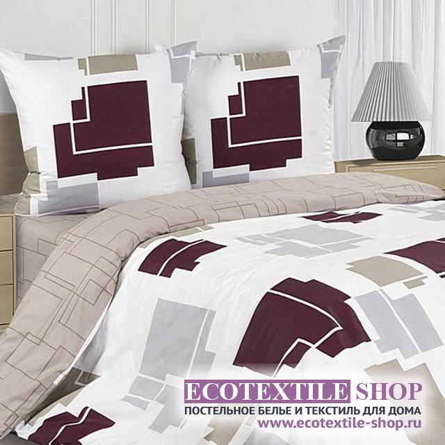 Постельное белье Ecotex Poetica Кэмпбелл на резинке (размер евро)