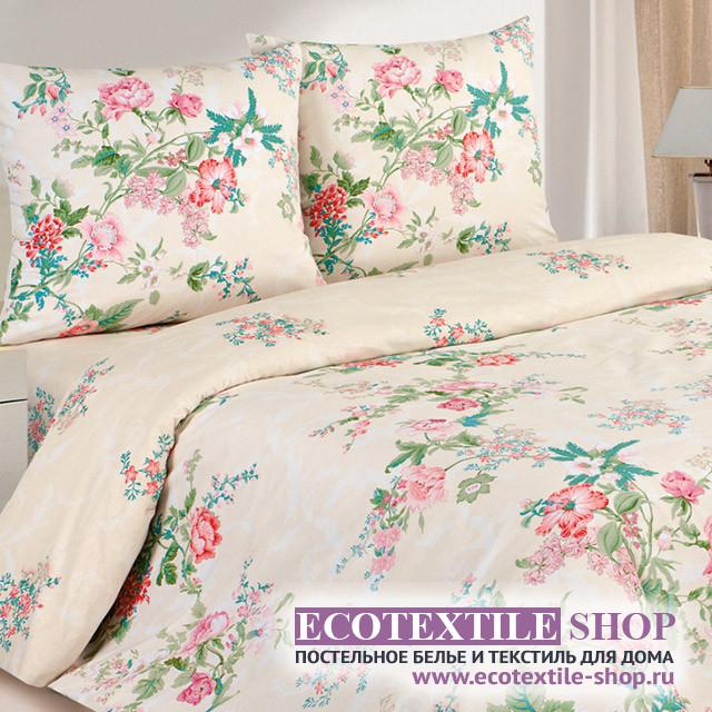 Постельное белье Ecotex Poetica Клауди на резинке (размер 2-спальный)
