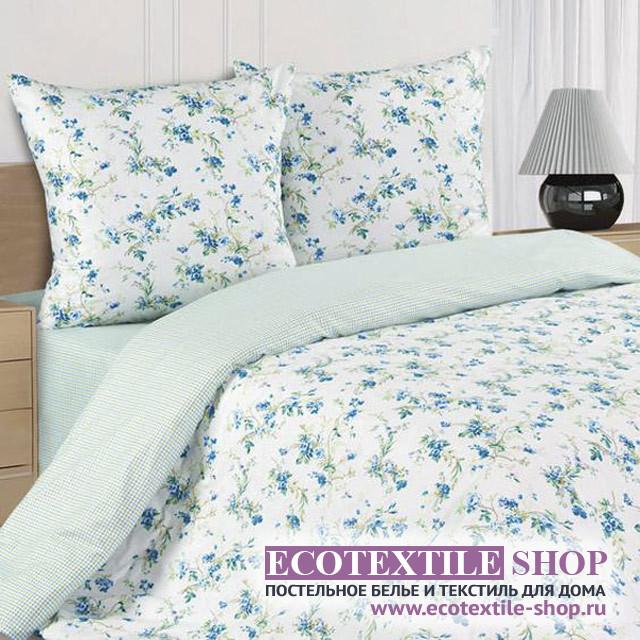 Постельное белье Ecotex Poetica Коломбина на резинке (размер 2-спальный)