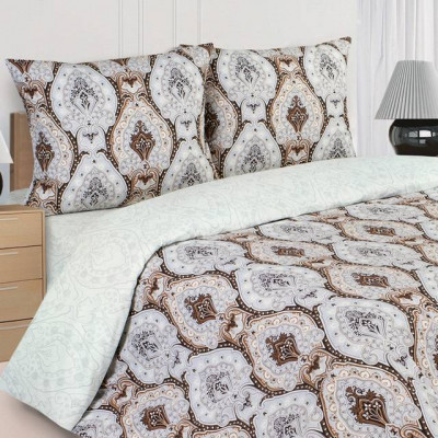 Ecotex Poetica Королевская лилия на резинке (размер 2-спальный)