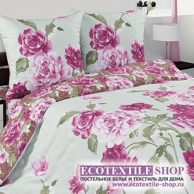 Постельное белье Ecotex Poetica Купава на резинке (размер 2-спальный)