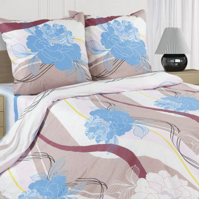 Ecotex Poetica Лагуна на резинке (размер 2-спальный)