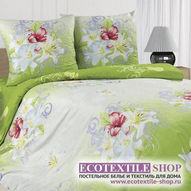 Постельное белье Ecotex Poetica Лилия (размер 1,5-спальный)