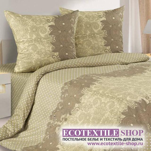 Постельное белье Ecotex Poetica Лия на резинке (размер 2-спальный)