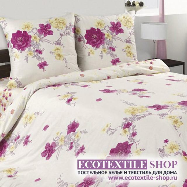 Постельное белье Ecotex Poetica Мелани на резинке (размер 2-спальный)