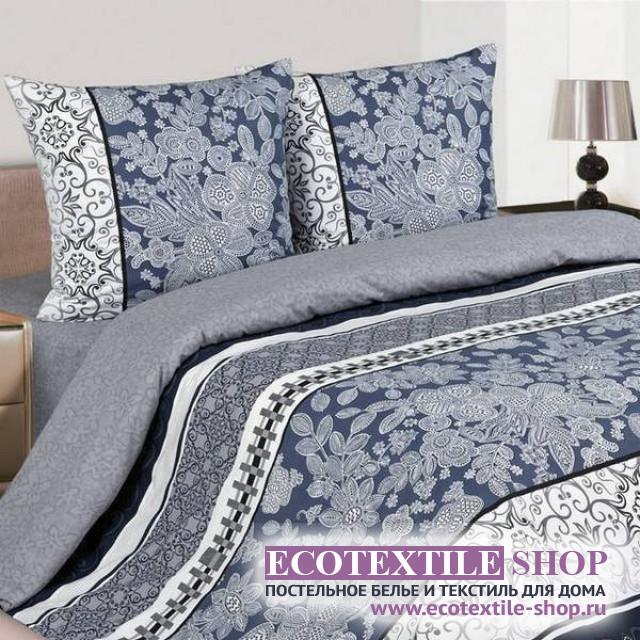 Постельное белье Ecotex Poetica Мирабелла на резинке (размер 2-спальный)