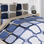 Постельное белье Ecotex Poetica Оригами на резинке (размер 2-спальный)