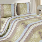 Постельное белье Ecotex Poetica Орнамент (размер 1,5-спальный)