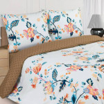 Постельное белье Ecotex Poetica Овелис на резинке (размер 2-спальный)