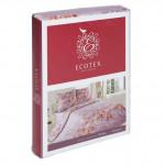 Постельное белье Ecotex Poetica Мармарис на резинке (размер евро)