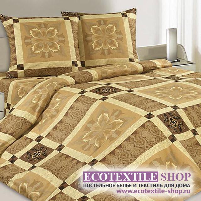 Постельное белье Ecotex Poetica Палермо на резинке (размер 2-спальный)