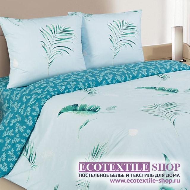 Постельное белье Ecotex Poetica Пальма (размер семейный)