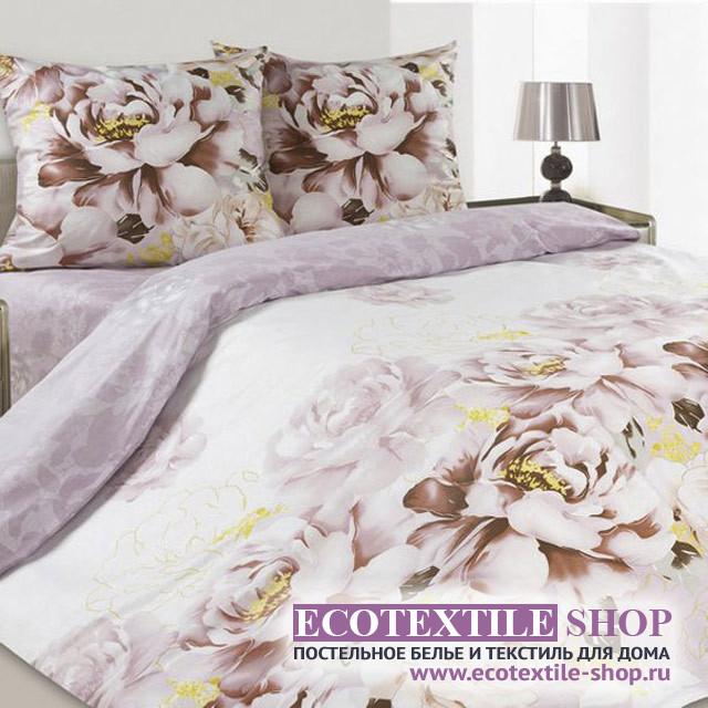 Постельное белье Ecotex Poetica Парадиз на резинке (размер 2-спальный)