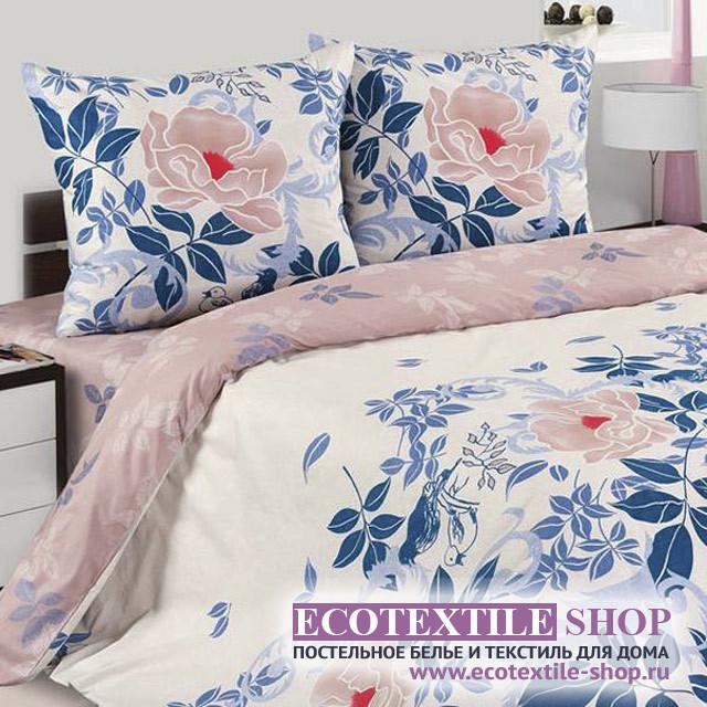 Постельное белье Ecotex Poetica Патриция на резинке (размер 2-спальный)
