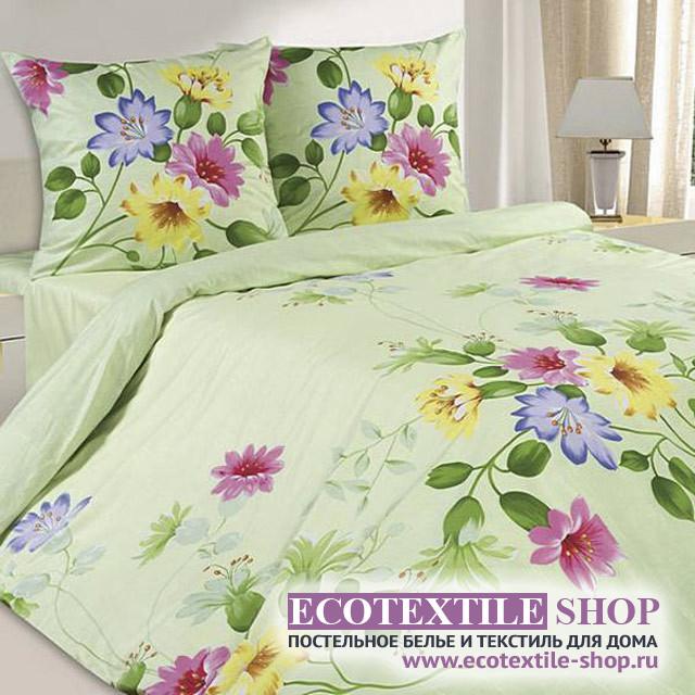 Постельное белье Ecotex Poetica Первоцвет (размер евро)