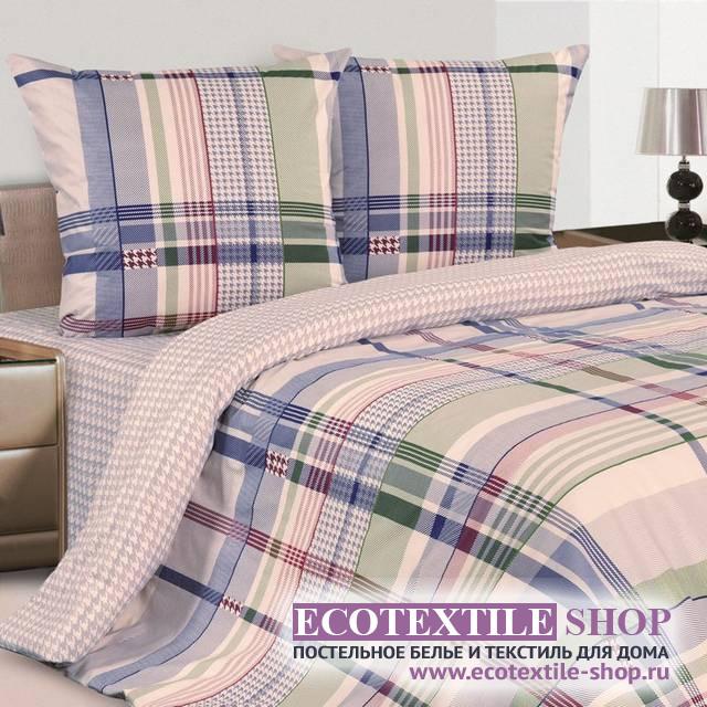 Постельное белье Ecotex Poetica Пье Де Пуль на резинке (размер 2-спальный)