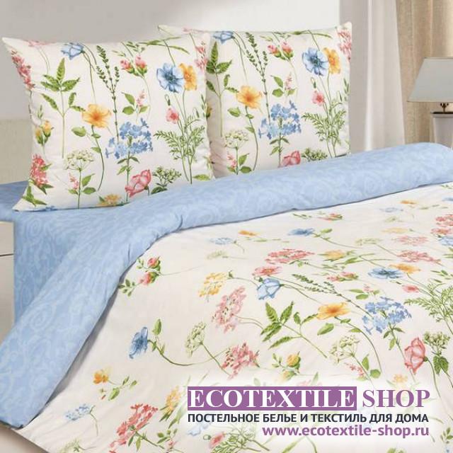 Постельное белье Ecotex Poetica Полевые цветы (размер 2-спальный)