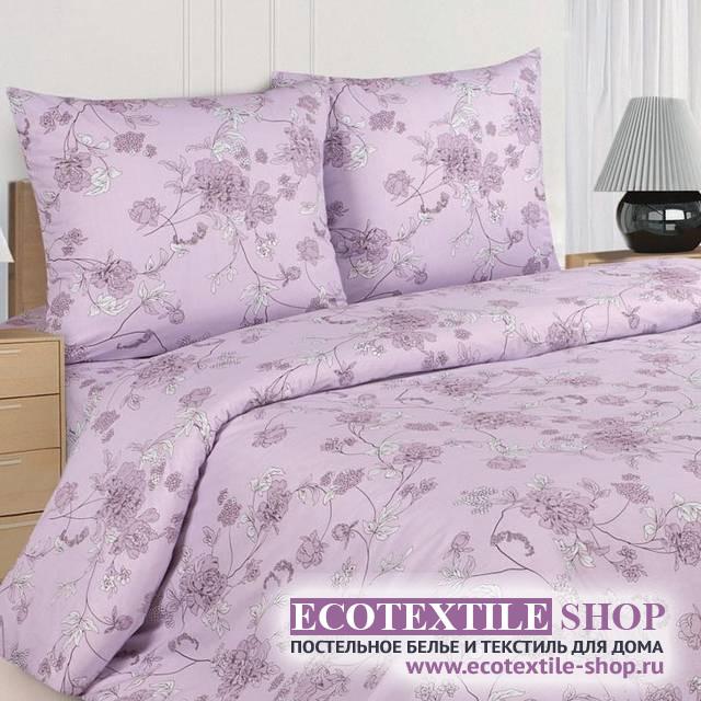 Постельное белье Ecotex Poetica Романс на резинке (размер 2-спальный)