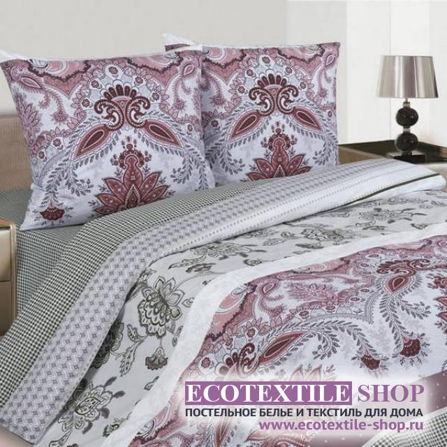 Постельное белье Ecotex Poetica Ромео на резинке (размер 2-спальный)